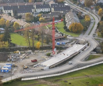 Reconstruction du Pont de Lully
