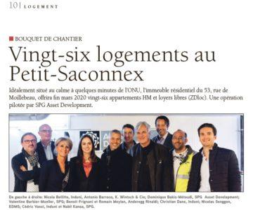 Vingt-six logements au Petit-Saconnex