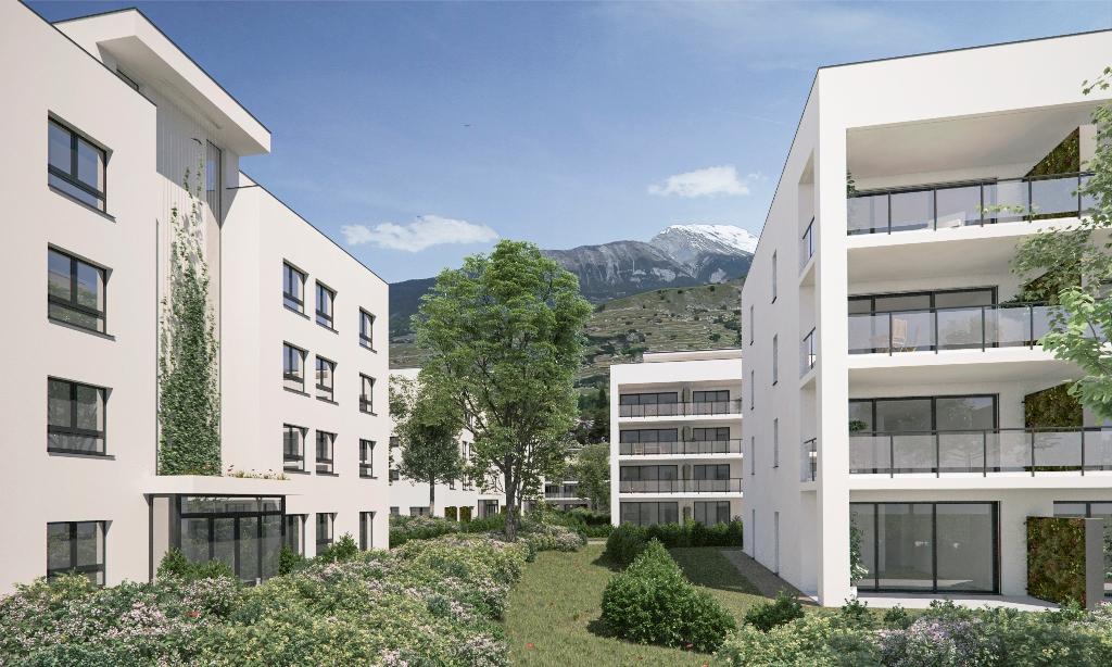 Ecoquartier Green Parc à Sion