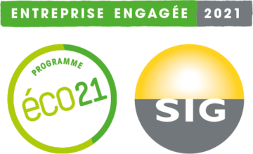 Entreprise engagée SIG eco21